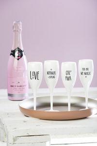 Koziol - cheers - Champagne Flute