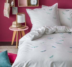BLANC CERISE - libellules - Children's Bed Linen Set