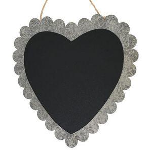CHEMIN DE CAMPAGNE - grand tableau ardoise cour en zinc de cuisine - Wall Mounted Blackboard
