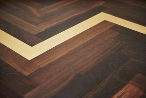 BOHEMIAN WORKS - chevrons - Wooden Floor