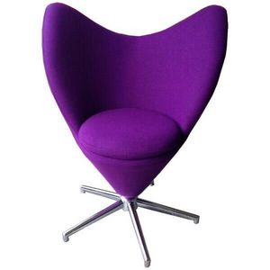 Mathi Design - fauteuil design rotatif twin - Swivel Armchair