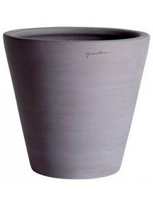 POTERIE GOICOECHEA - cuvier terre grise - Flower Pot