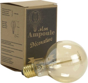 Amadeus - ampoule retro globe diamètre 8cm - Light Bulb Filament