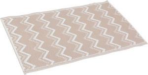 Amadeus - tapis beige déco graphic - Bathmat