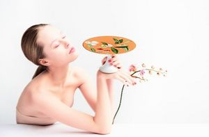 Raynaud - trésor fleuri - Pie Dish