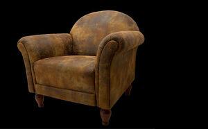 TREND STOFF - buffalo - Imitation Leather