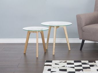 BELIANI - table d'appoint - Nest Of Tables