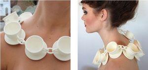INEKE OTTE - tasse à café - Necklace
