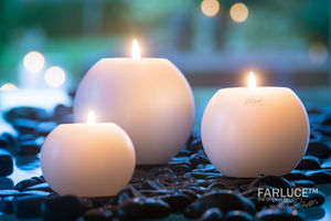 QULT DESIGN - farluce moon - Round Candle
