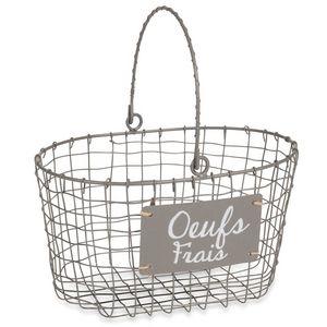 MAISONS DU MONDE -  - Wire Egg Basket