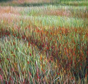 MANUEL CANCEL - -grass - Contemporary Painting