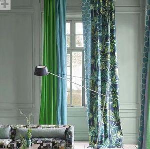 Designers Guild - arjuna leaf viridian - Upholstery Fabric