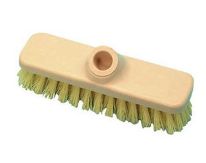 Stiff bristle brush