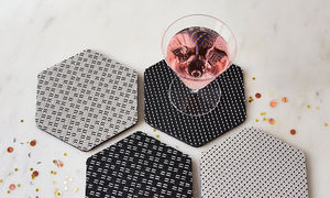 CHILEWICH - hex - Coaster
