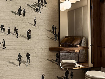 WALL & DECO - la citta'fluida - Wallpaper