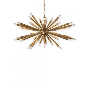 ALAN MIZRAHI LIGHTING - qz0336 sunshine starburst - Multi Light Pendant