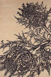 Timorous Beasties - thistle £2,350.00 - Modern Rug