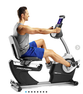 PROFORM France - 325 csx+ - Recumbent Exercise Bike