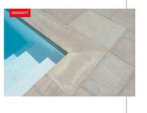 Capri - grès gris himalaya - Pool Border Tile