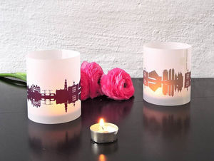 44spaces - set of 2 - Candle Jar