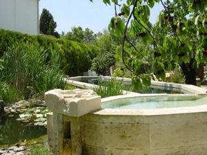 La Pierre Qui Vole - couloir de nage - Garden Pond