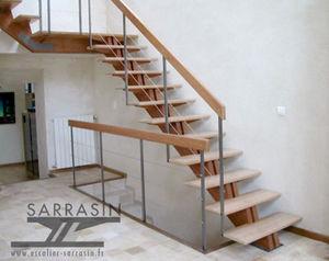 Escalier Sarrasin -  - Straight Staircase