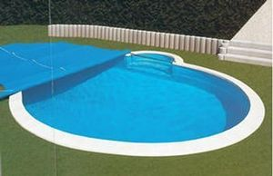 Summer swimming pool cover