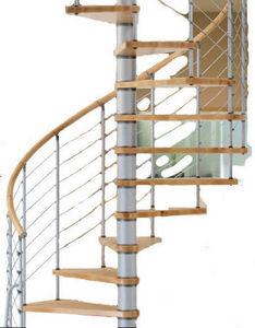 SK-SYSTEME - vogue 120cm en 2m70 - Spiral Staircase