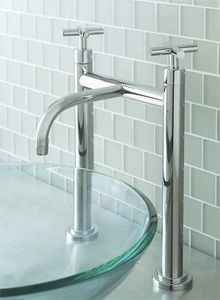 SIGMA Faucets - 1400 series vessel pillar faucet - Two Holes Basin Mixer