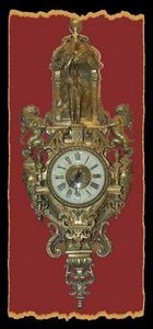 Le grenier de Vauban - cartel d'applique xixe - Antique Clock