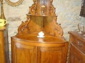 antiquites materiaux anciens deco de jardins -  - Corner Cupboard