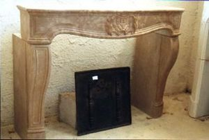 Cheminee Jean Lapierre -   - Fireplace Mantel