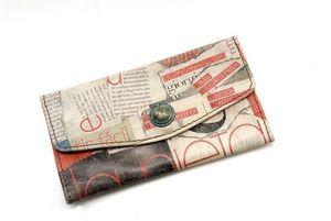 CATHERINE PARRA - portefeuille imprimé - Wallet