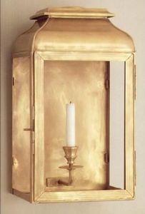 Charles Edwards - laiton doré - Outdoor Wall Lantern