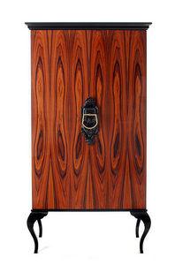 BOCA DO LOBO - guggenheim-ebony mosaic - Cabinet