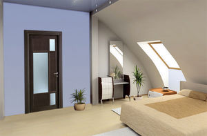 BERTOLOTTO PORTE - baltimora new - 2043 - rovere grey - Internal Glass Door