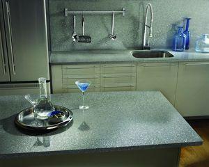 SILESTONE COSENTINO - serie platinium : chrome - Kitchen Worktop