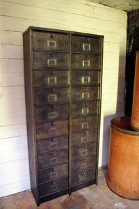 LE MARCHAND D'OUBLIS - strafor - Drop Door Storage Cabinet