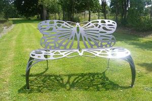 CAROLINE CORBEAU -  - Garden Bench