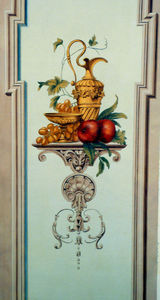 sandrine takacs decors - nature morte - Trompe L'oeil
