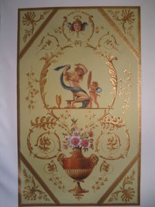 NICOLE BRUN - panneau - Oil On Canvas And Oil On Panel