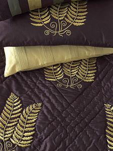 Sibona - fern damson - Bedspread