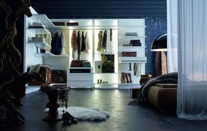 ROCHE BOBOIS - dress code - Corner Dressing Wardrobe