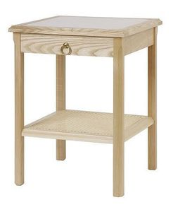 Cotswold Caners - winson bedside table 549 - Bedside Table