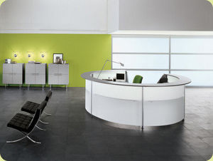 Flexiform Business Furniture - reception - Reception Desk