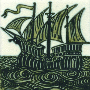 Kenneth Clark Ceramics - ship west - Ceramic Tile