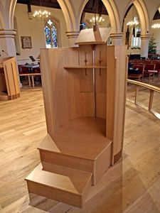 Sf Furniture - christ church, new malden - Lectern