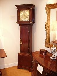 TALBOT HOUSE ANTIQUE CENTRE - mark holden - Grandfather Clock