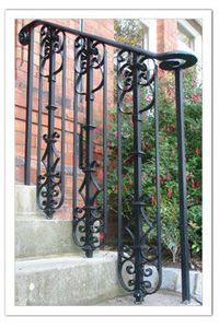 Peter Weldon Iron Designs -  - Banister