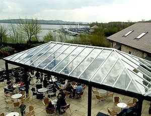 Newdawn & Sun - bespoke canopies - Glass Roof